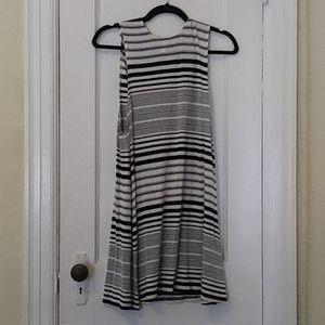 American Apparel Black & White Striped Dress